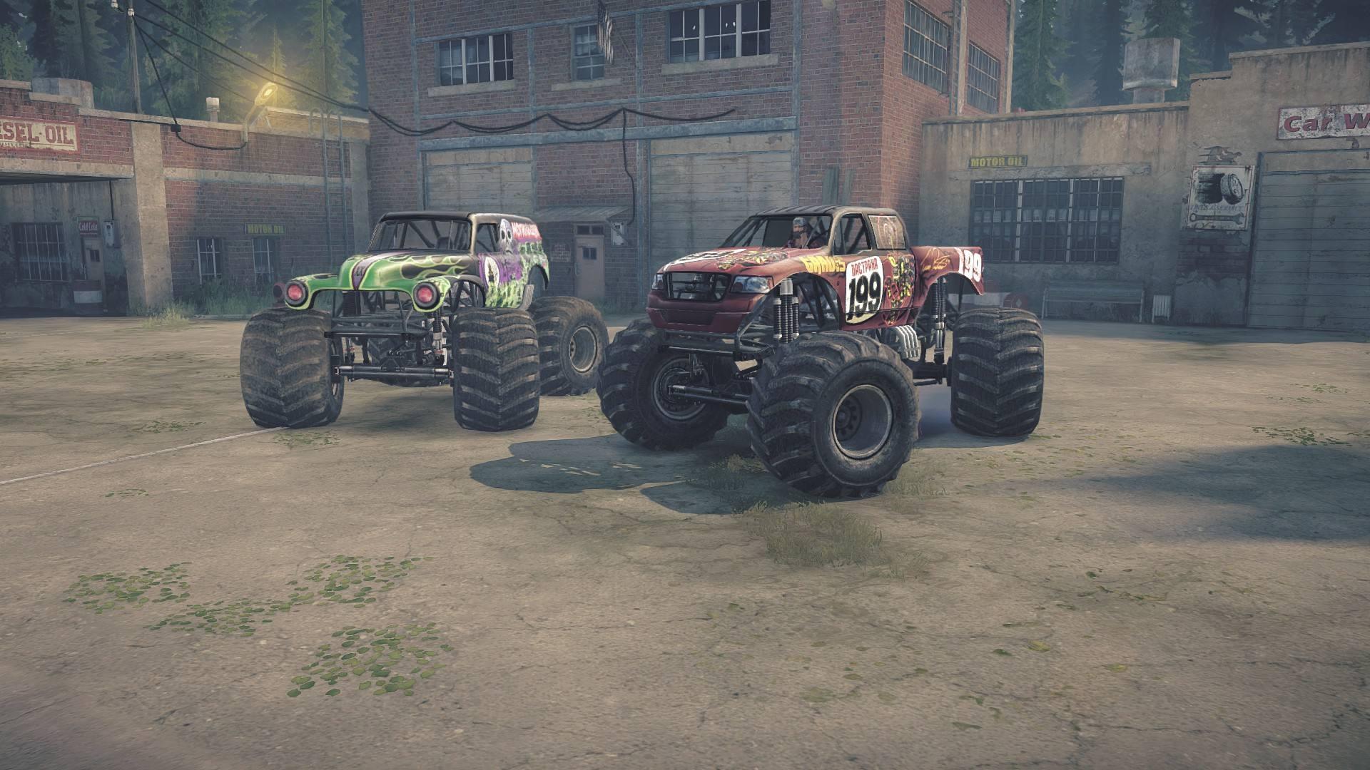 Pastana и Grave Digger Monster Trucks