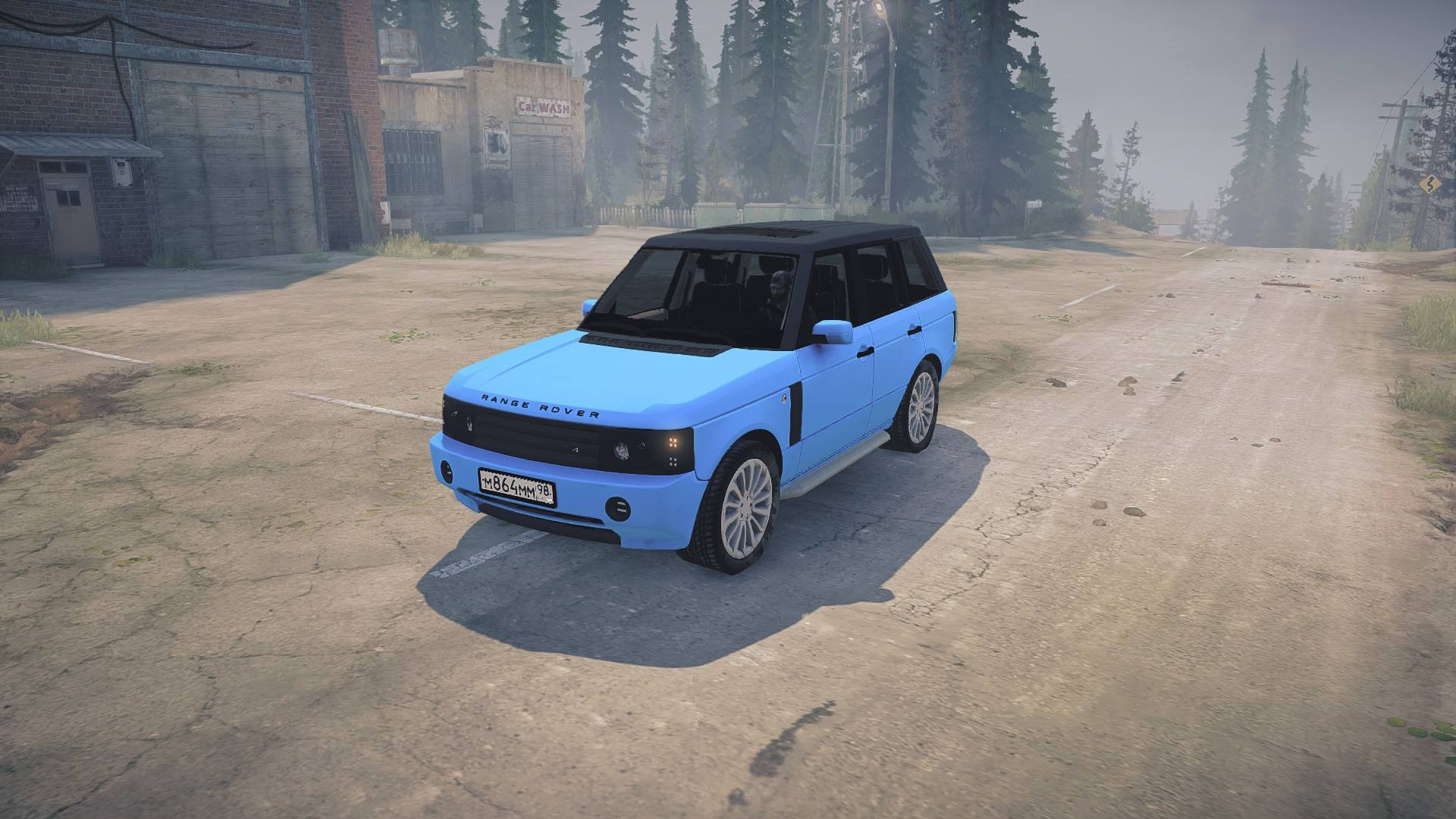 Range Rover «Понторезка»