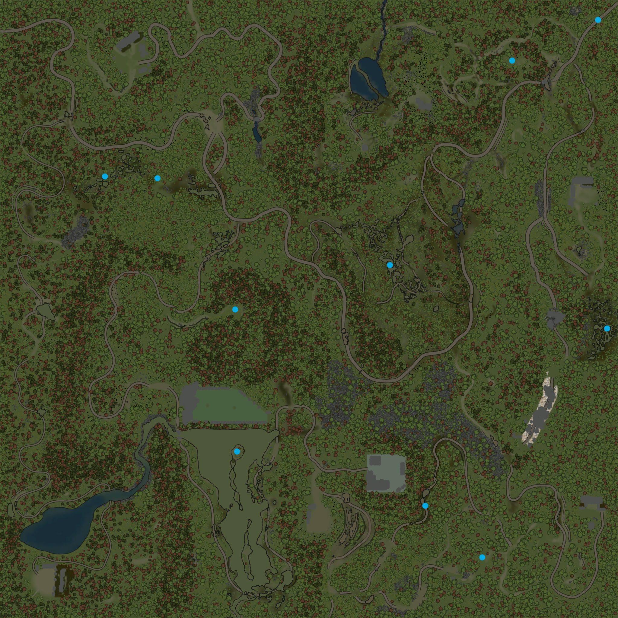 Карта «Начальник базы 3 (Свинокомплекс)»