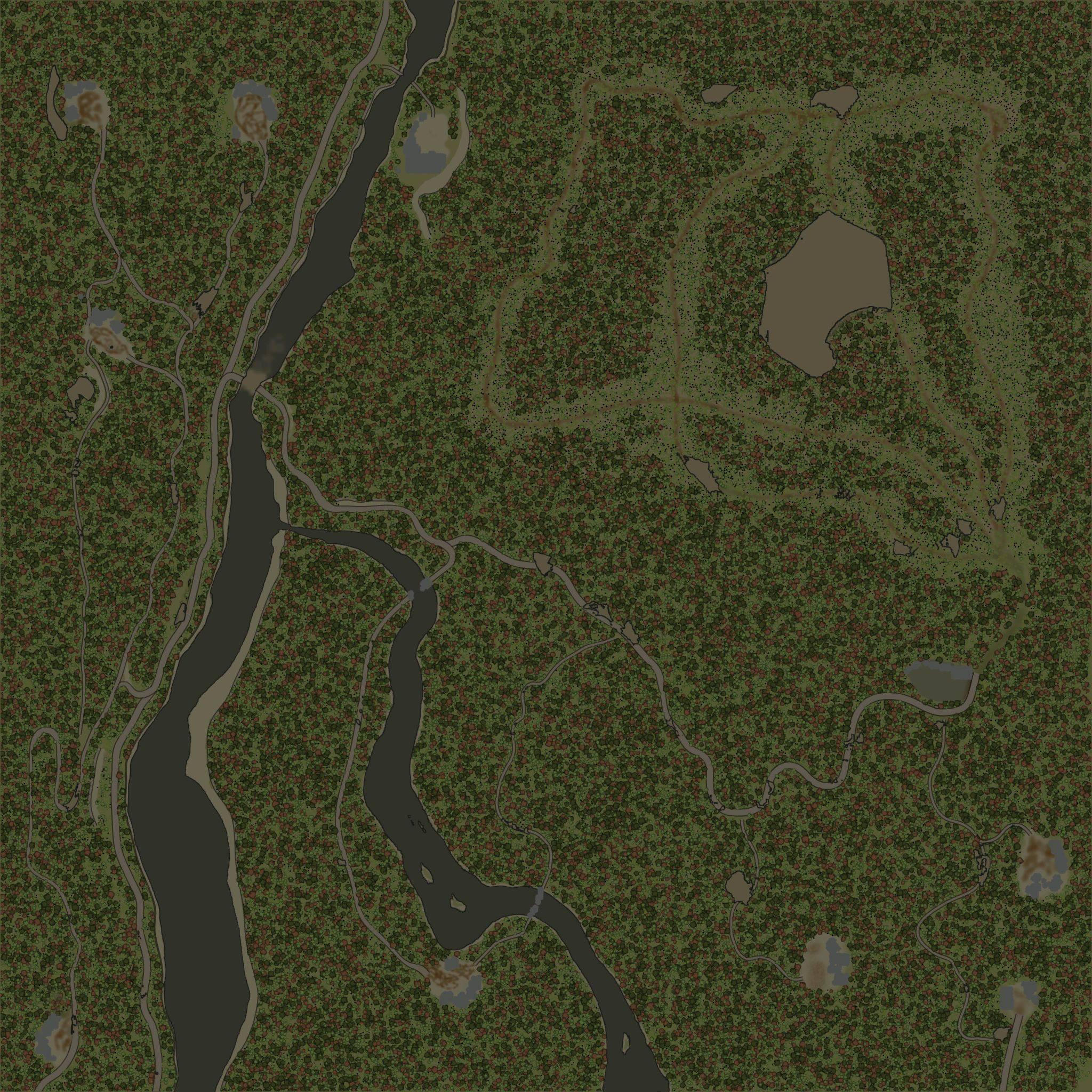 Карта «Very Easy 2»