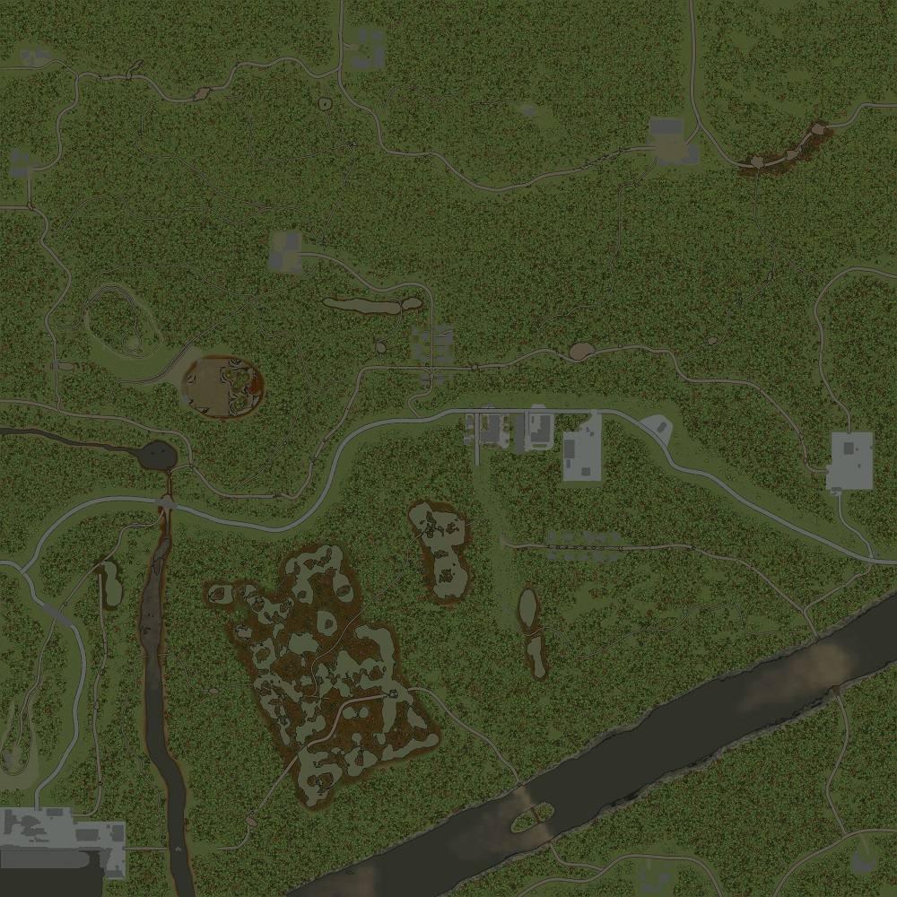 Карта «Work port»