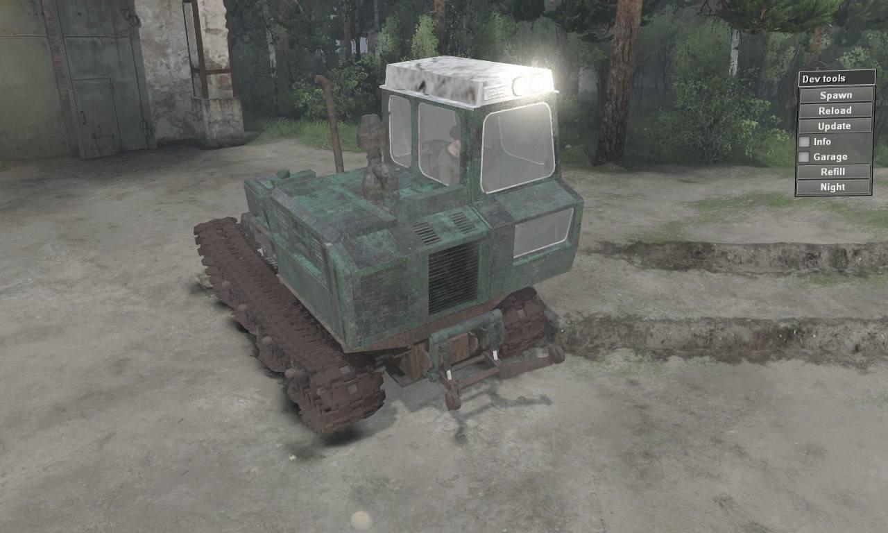 Трелевочный трактор ТЛТ-100 «Онежец»