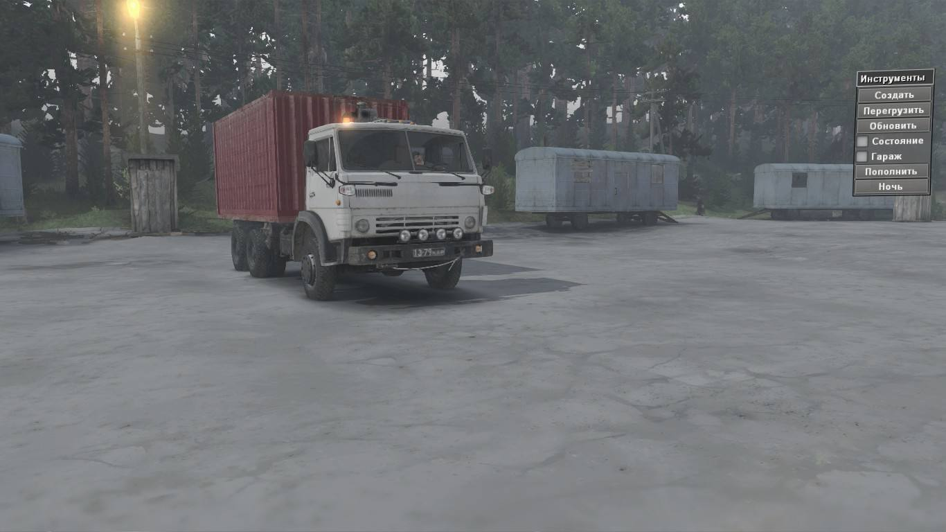 КамАЗ-4310 (White)