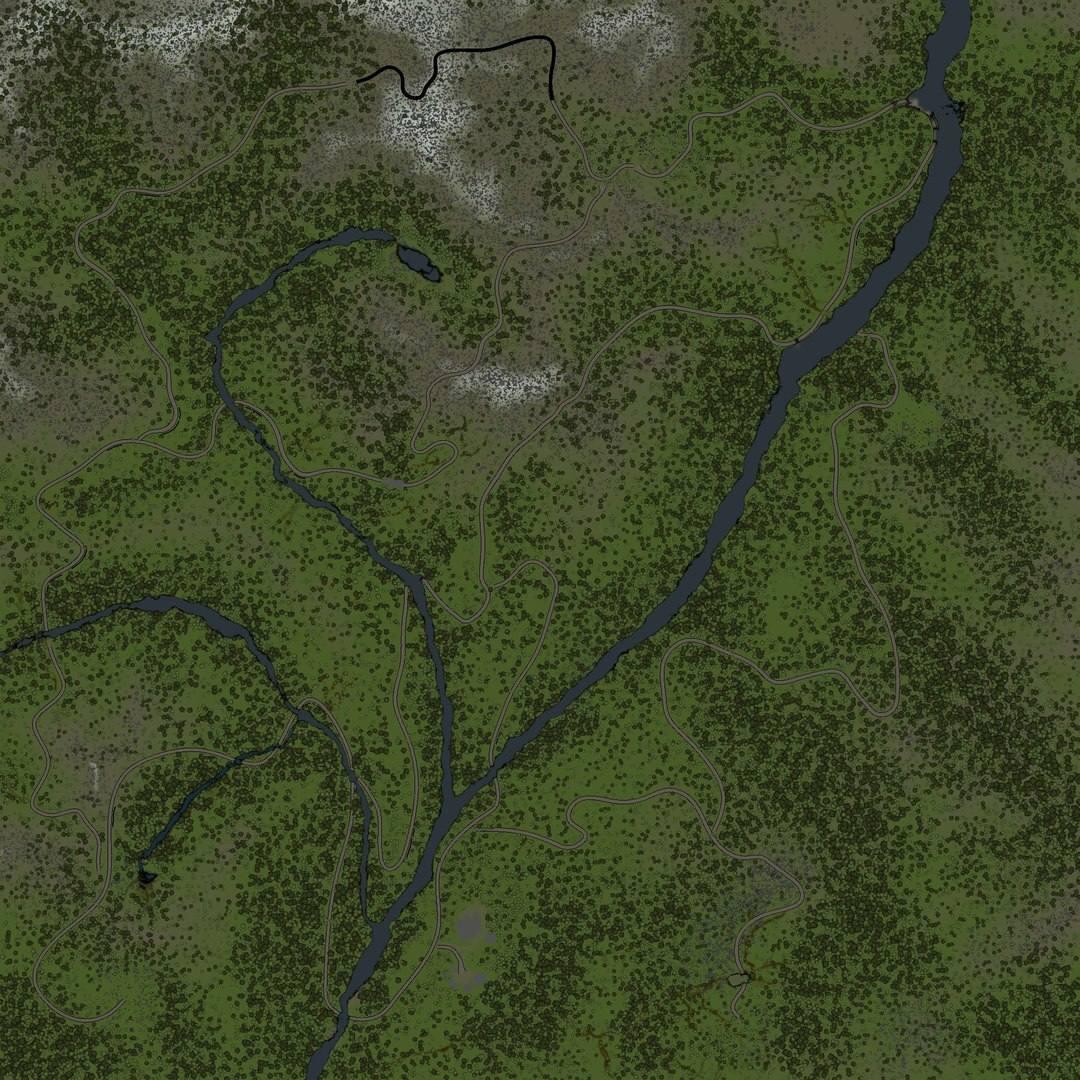 Карта «Сибирь»