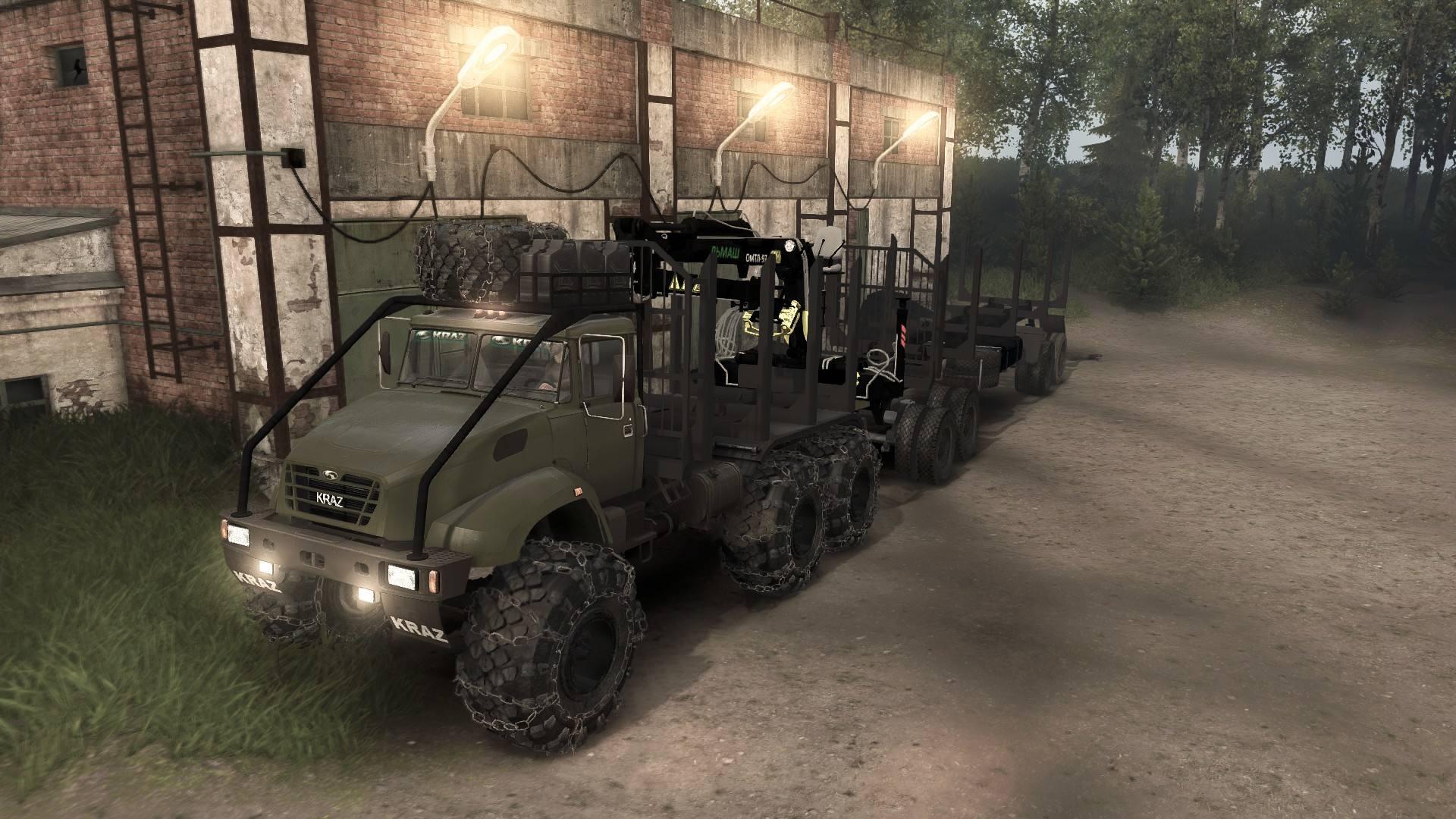 Краз-M16.1X Сортиментовоз