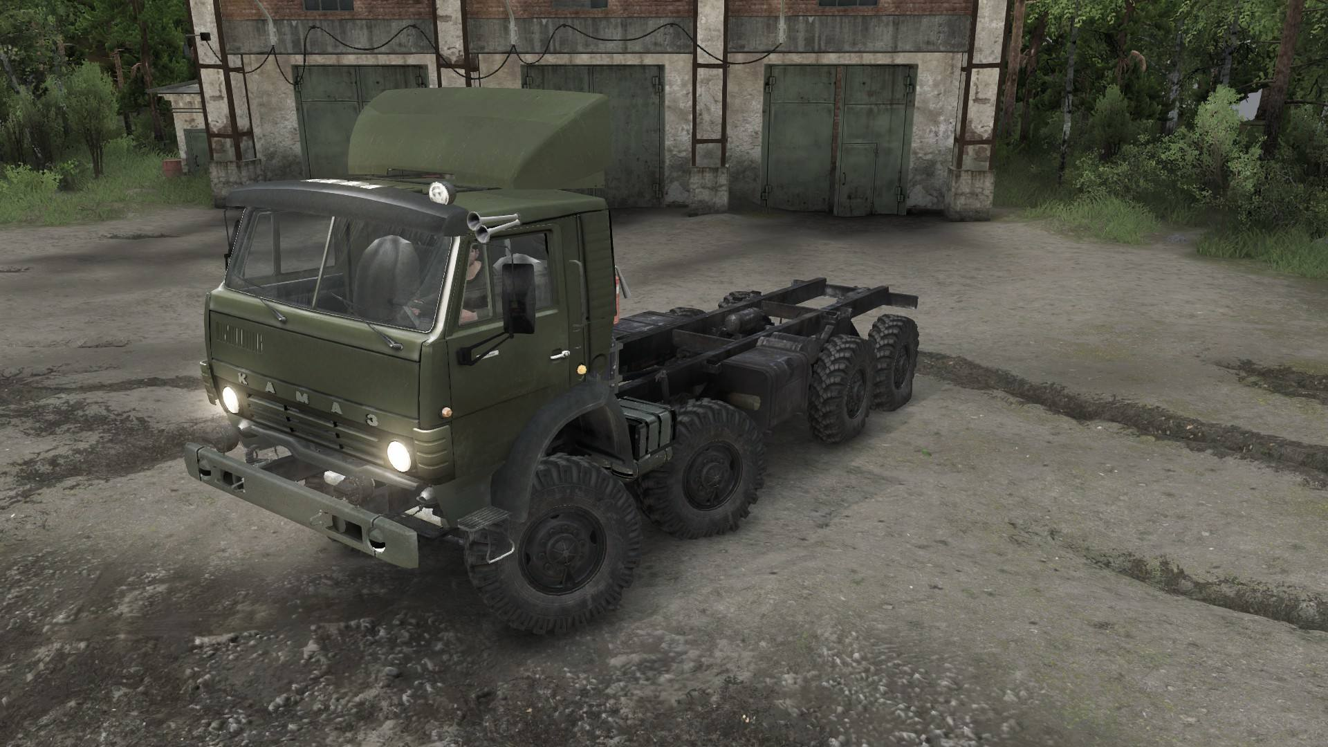 КамАЗ-6350 «Мустанг»