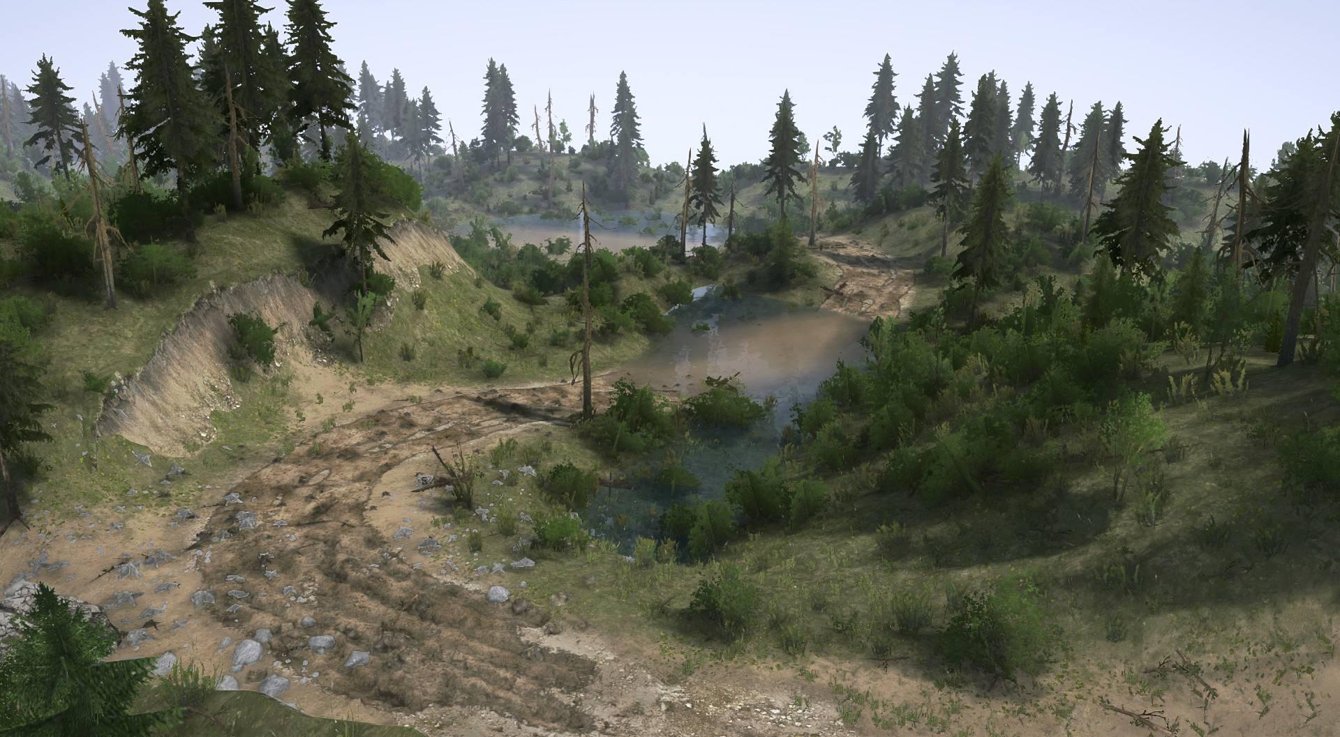 Карта «Разлив 2»