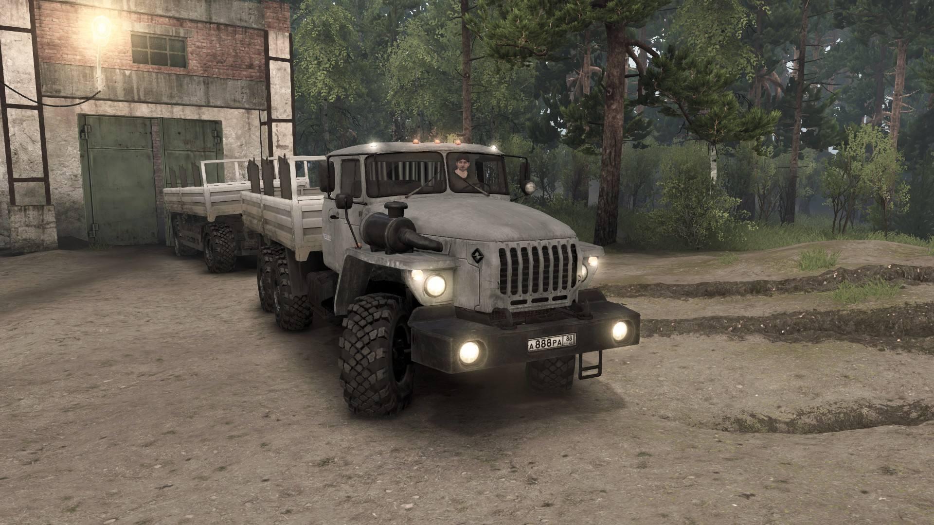 Урал-4320-30 со спальником