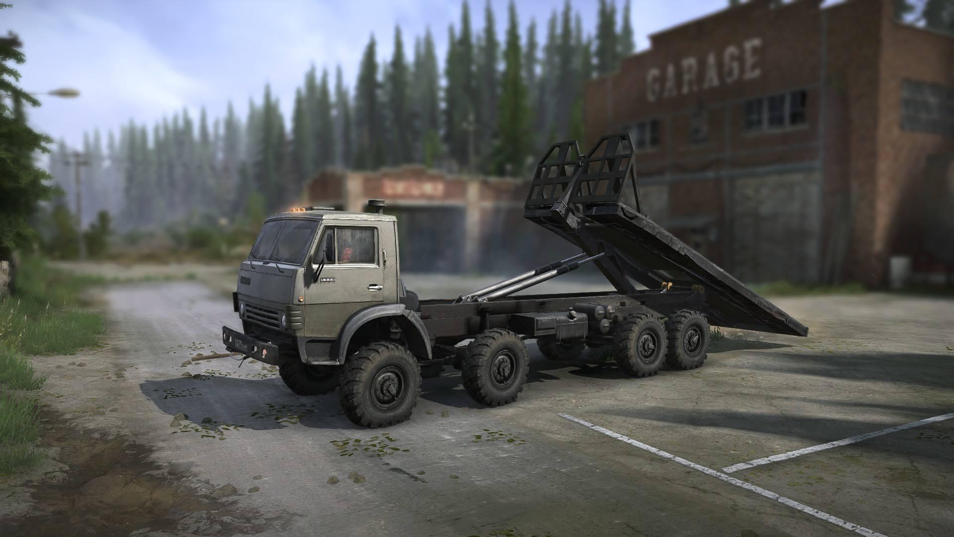 КАМАЗ 63501 (Мультилифт)