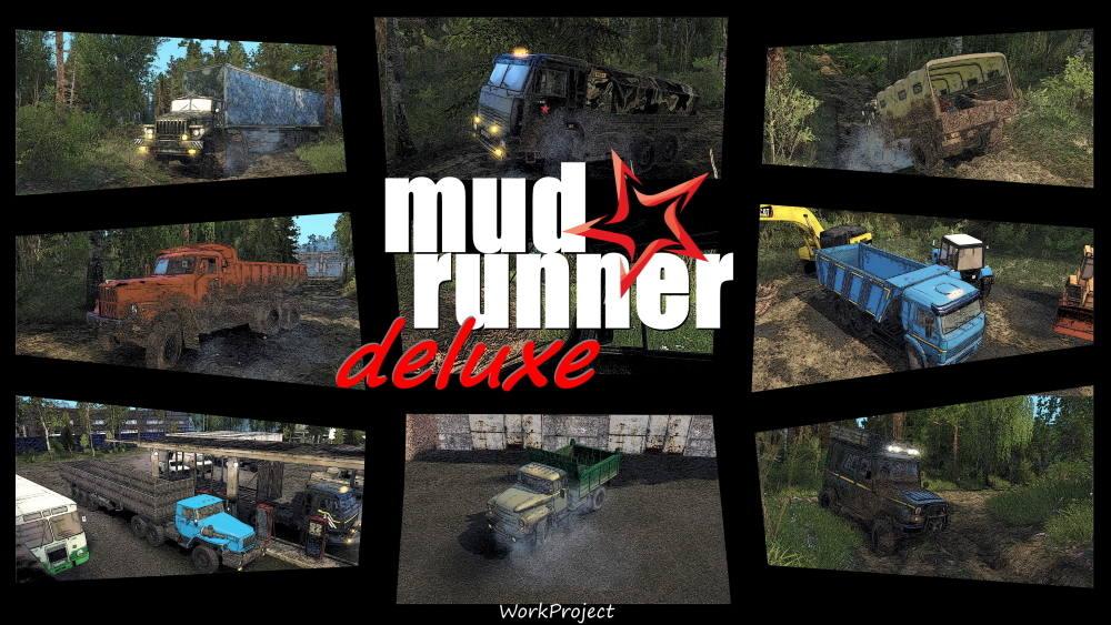 MudRunner Deluxe
