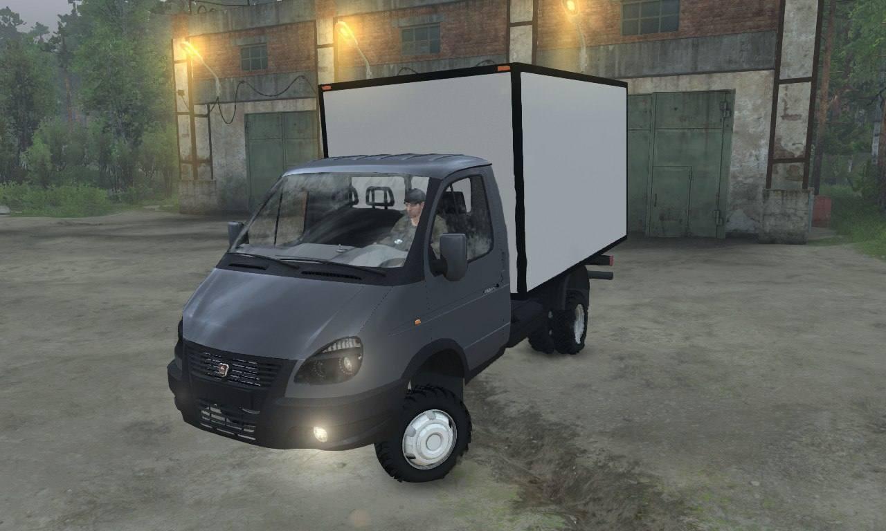 ГАЗ-33027 «Газель Бизнес» 4x4