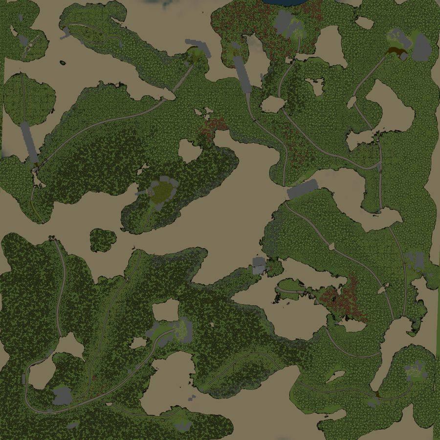 Карта «Мокрое дело»