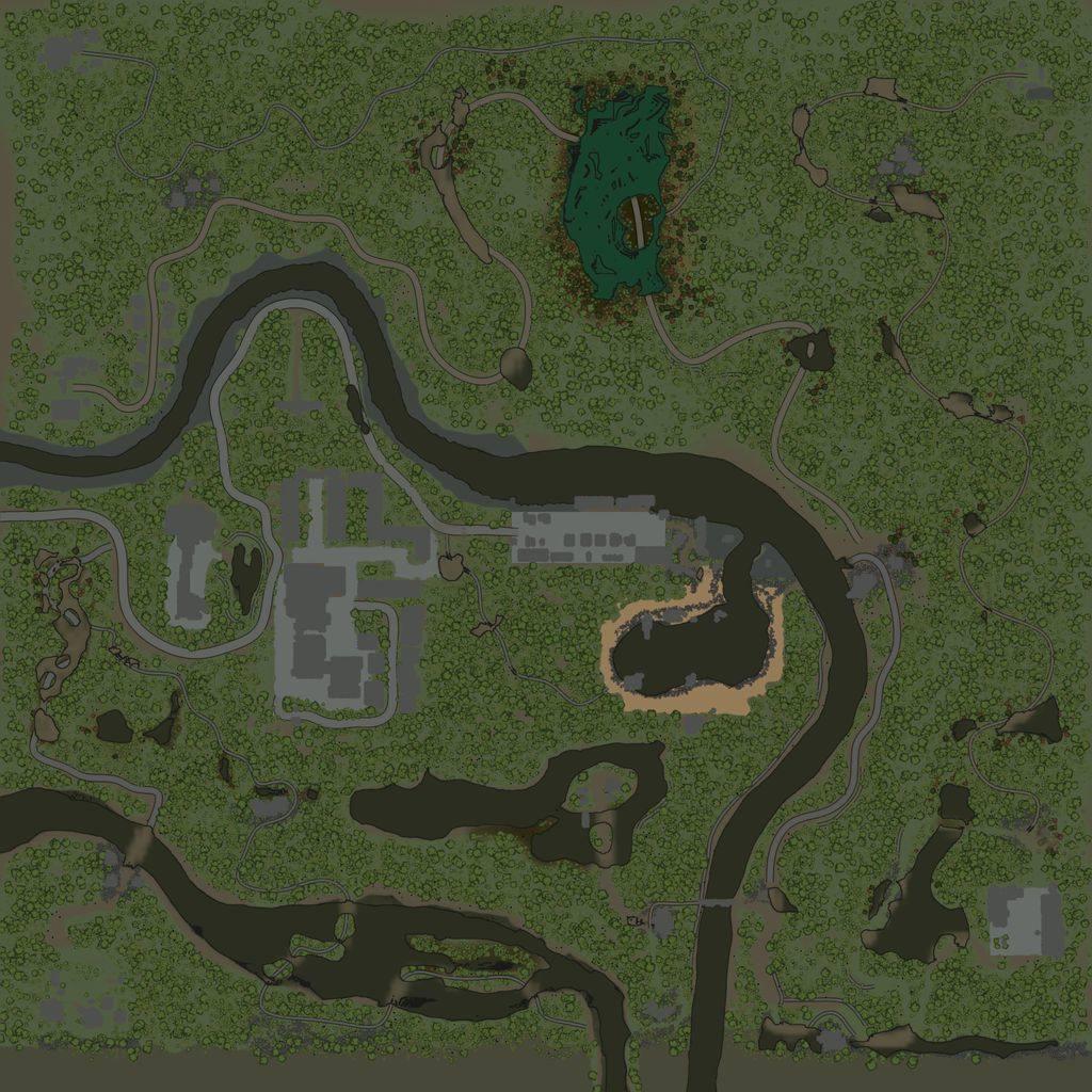 Карта «Затерянный город»