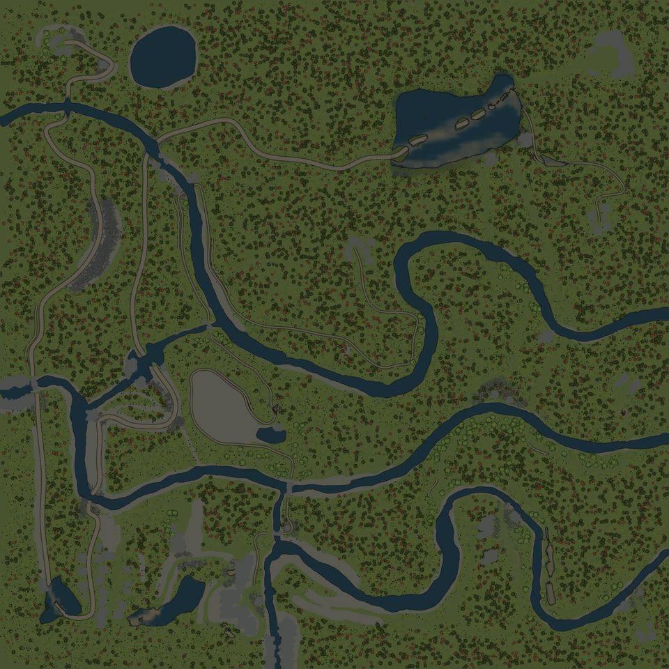 Карта «И снова в горы»