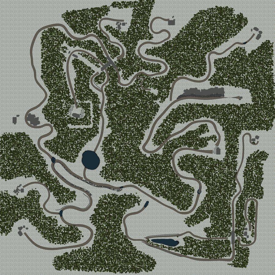 Карта «Белый плен»