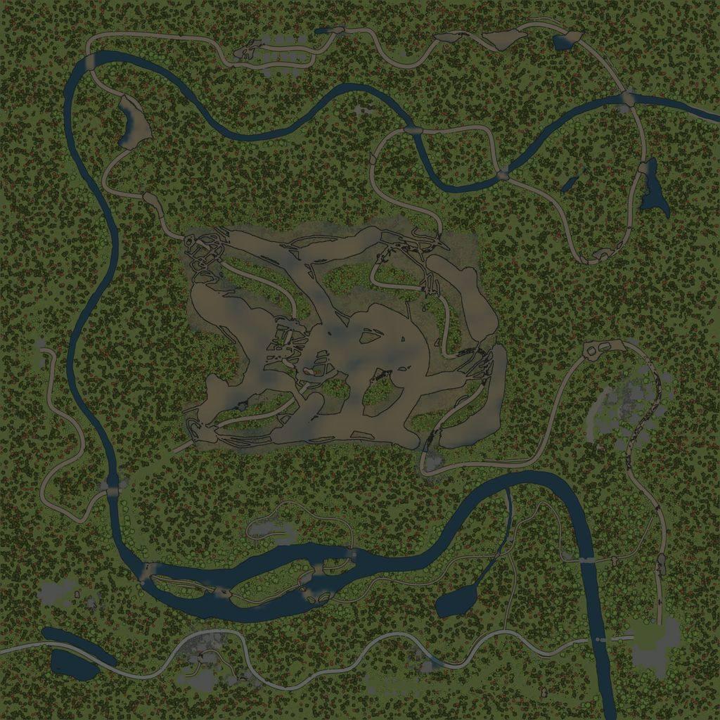 Карта «Болото»