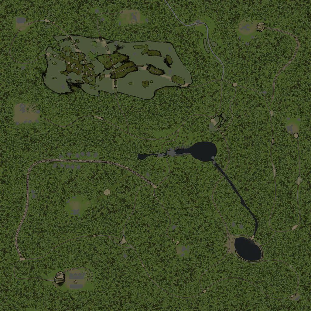 Карта «Деревня Призрак»