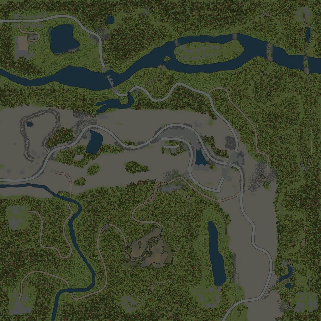 Карта «Хребет 2»