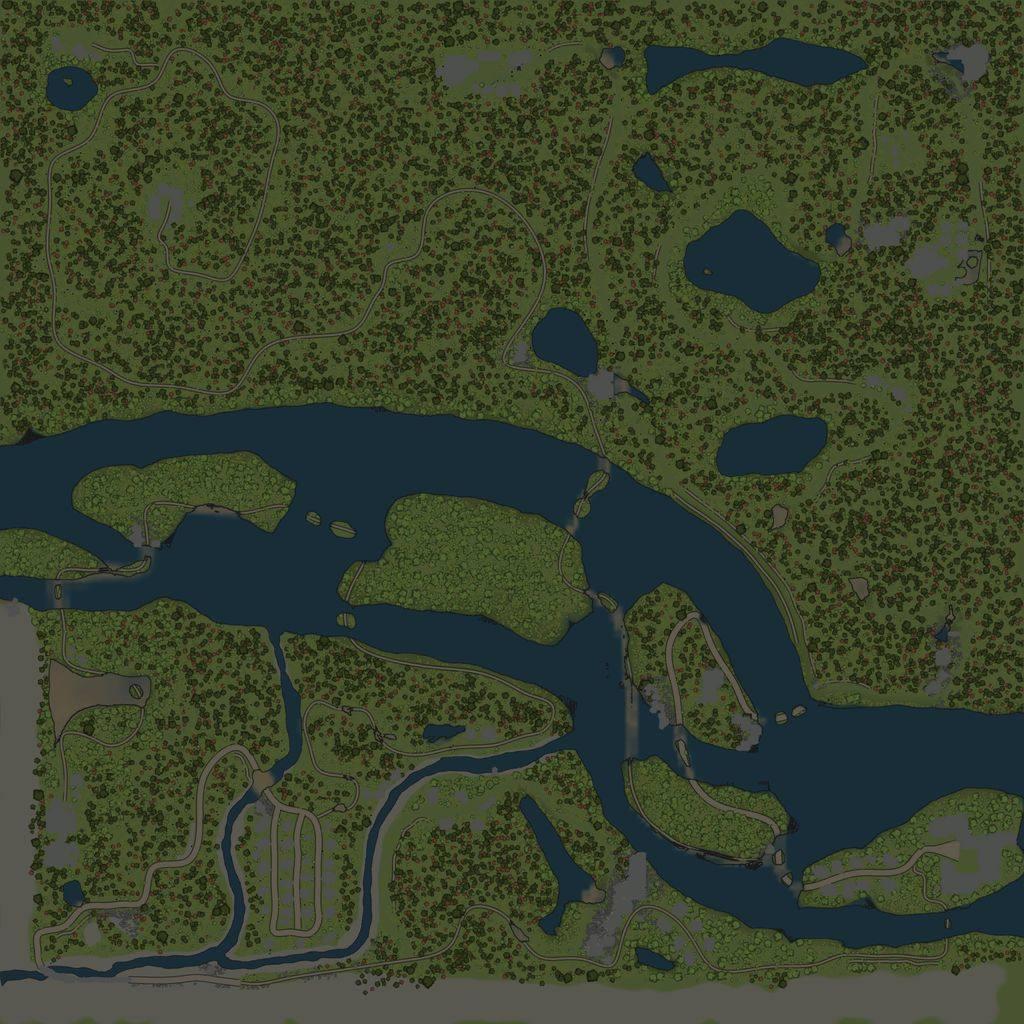 Карта «Хутора»