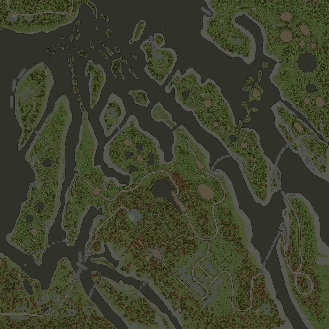 Карта «Короеды: Карстовая зона»