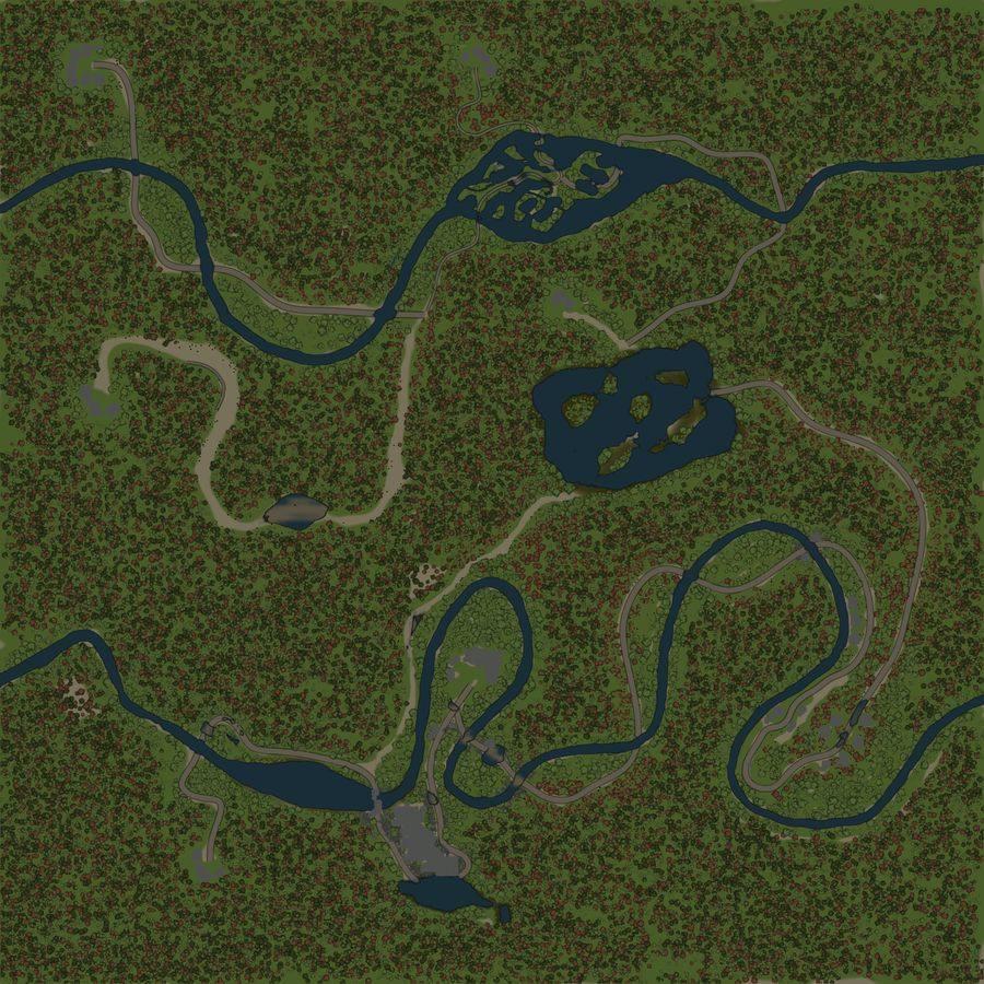Карта «Леспромхоз»