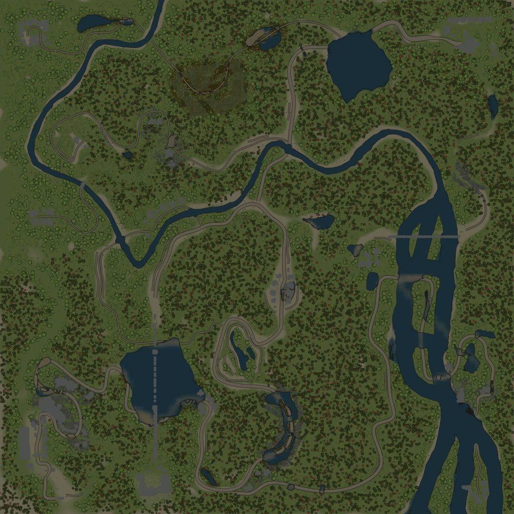 Карта «Мостовая»