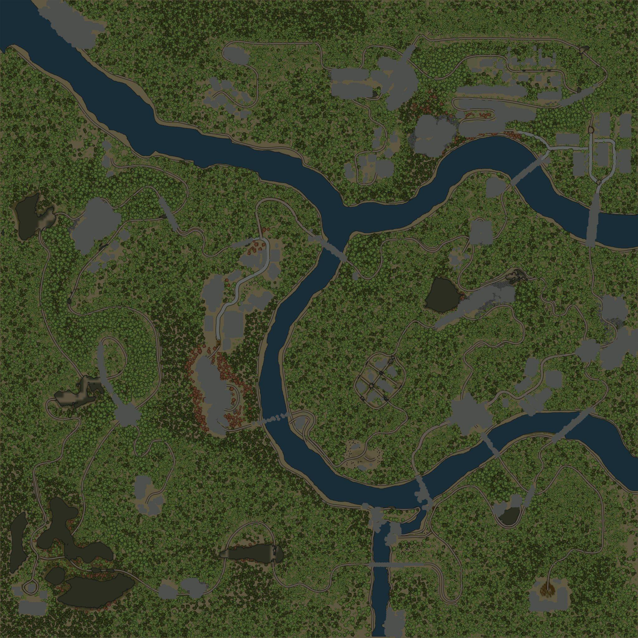 Карта «На поселении»