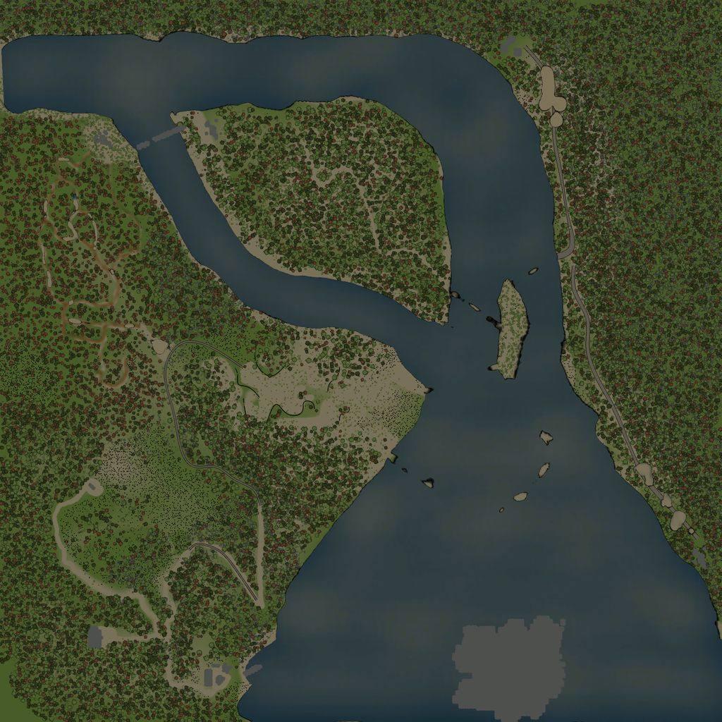 Карта «Ниагарский водопад»