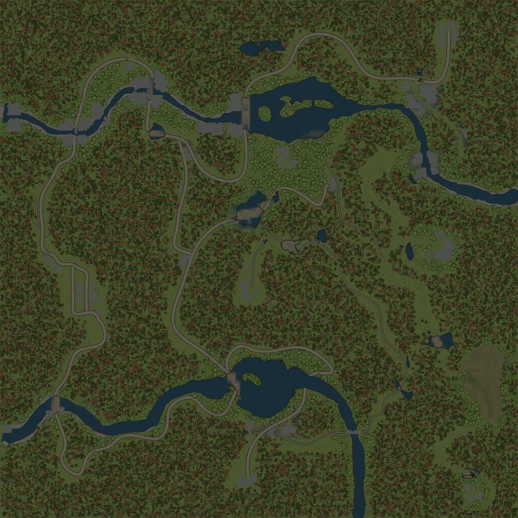 Карта «Низина»