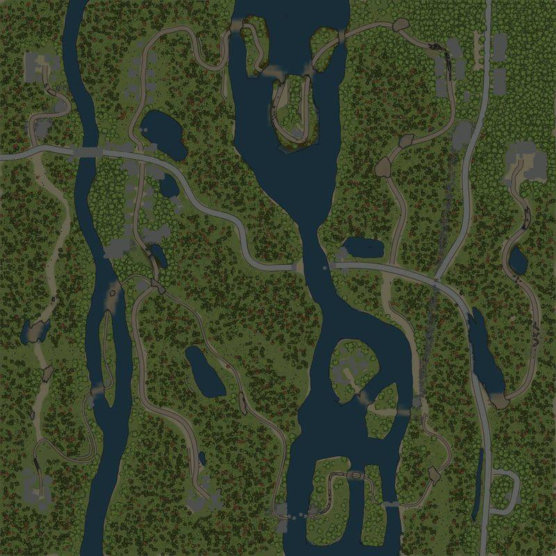 Карта «олЕшки»