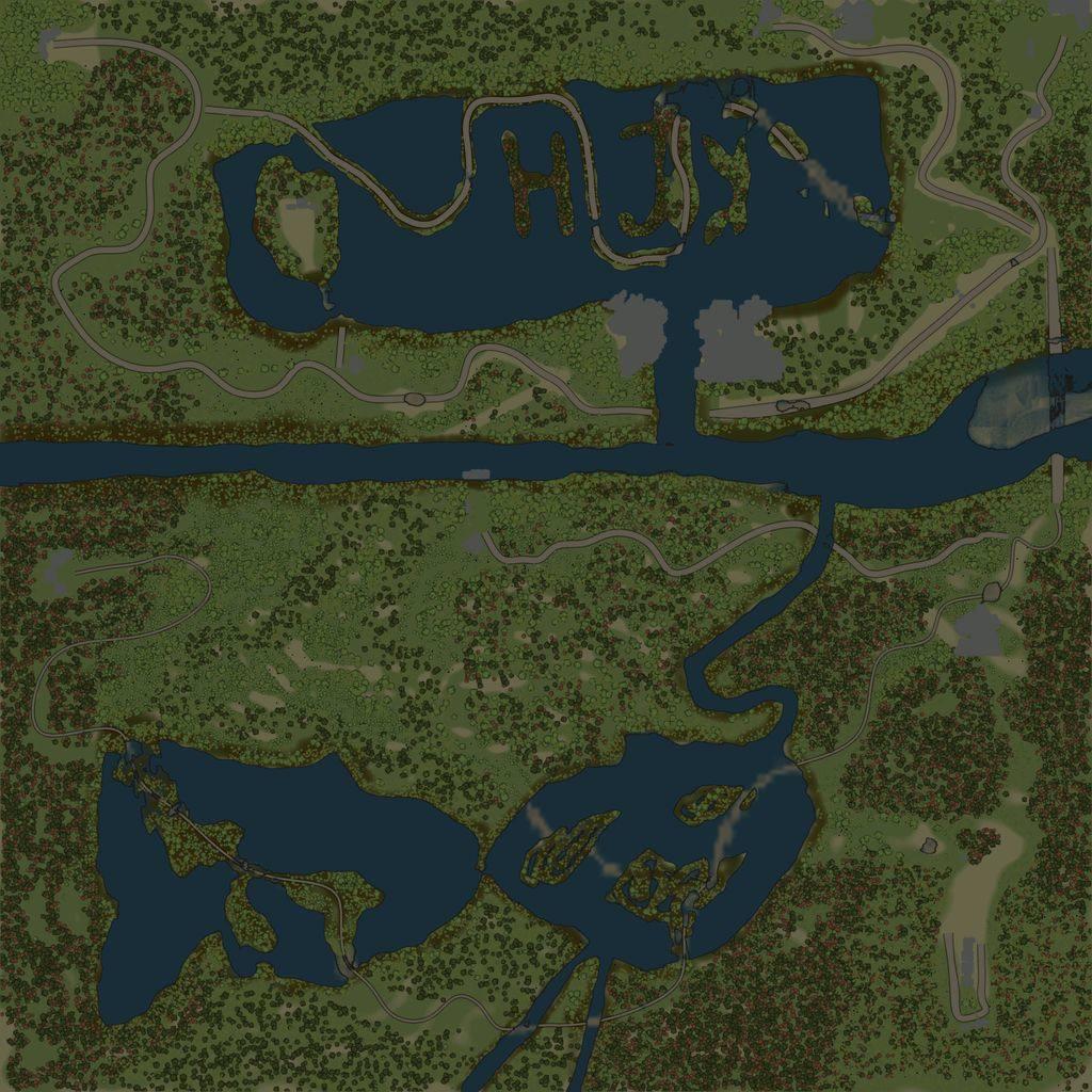 Карта «Плавни»