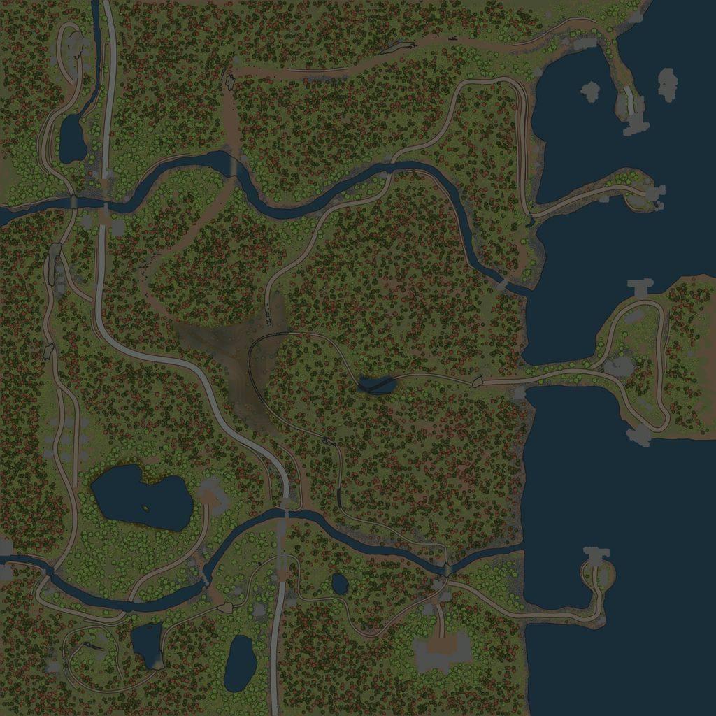 Карта «Порт 2»