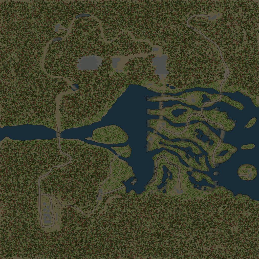 Карта «Разлив»