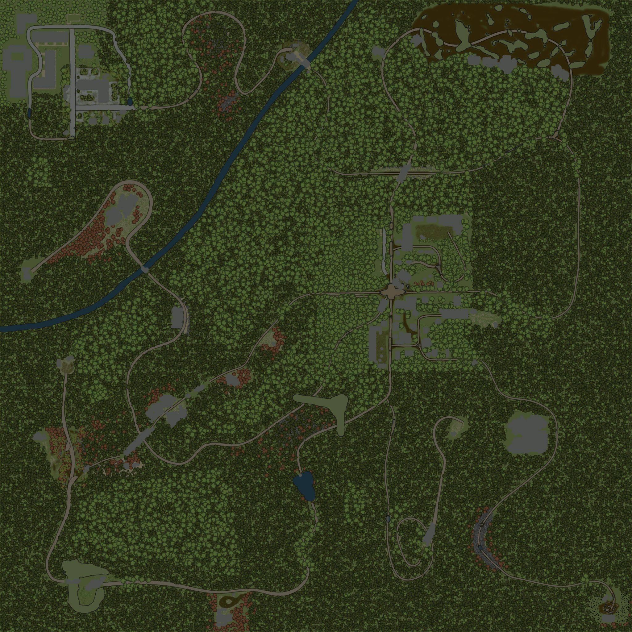 Карта «Шепот леса»