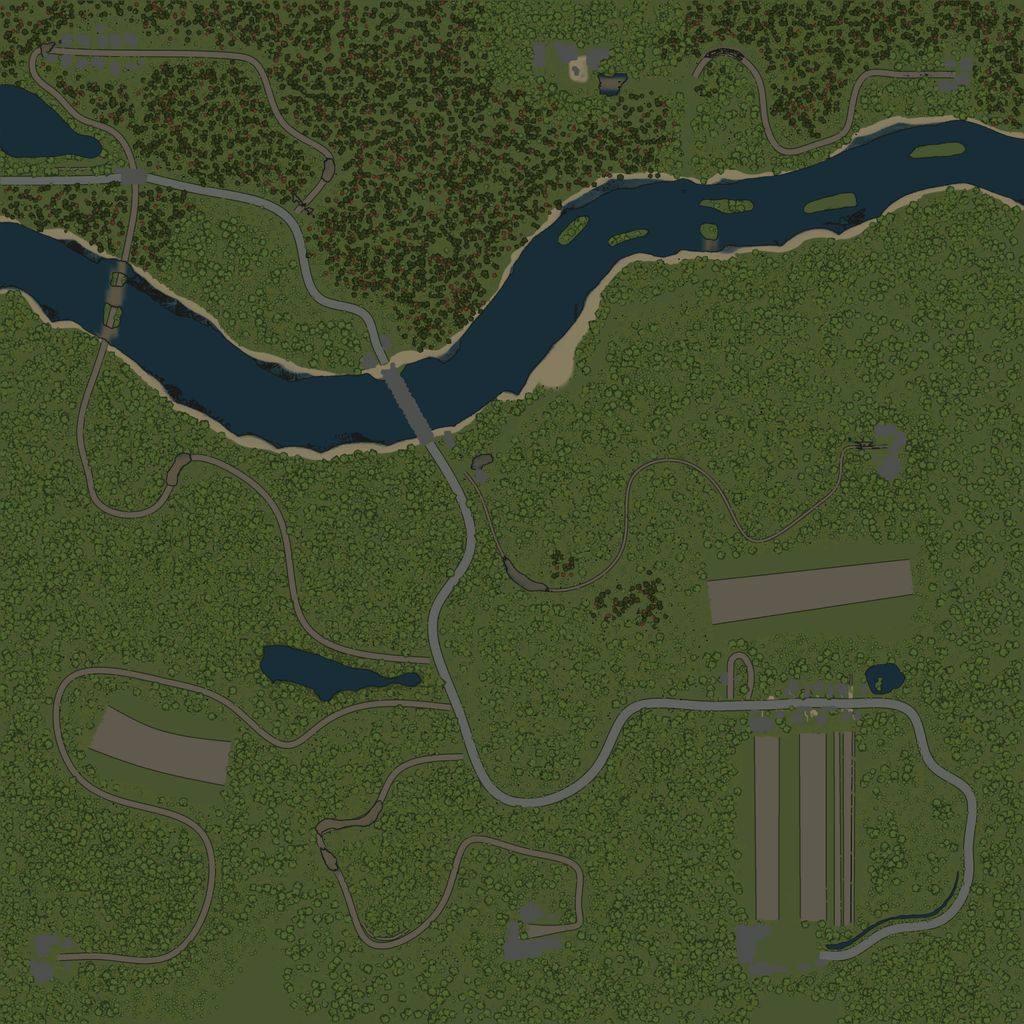 Карта «Степи таврии»