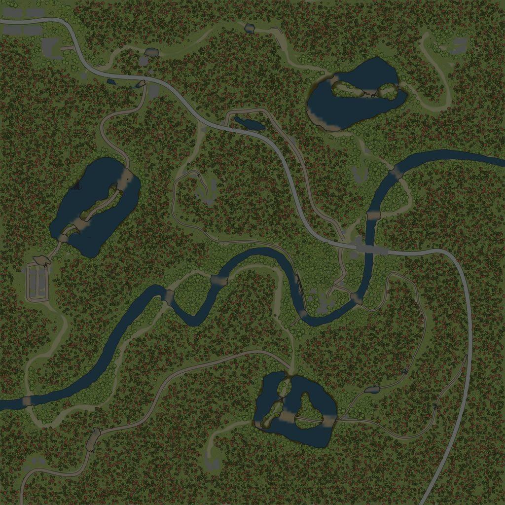 Карта «В брод»