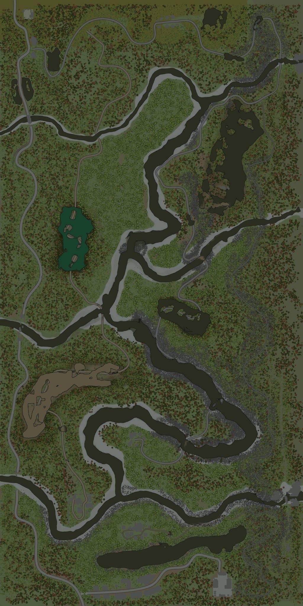 Карта «В длину»