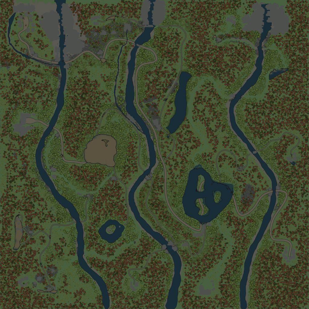 Карта «Водопад 2»