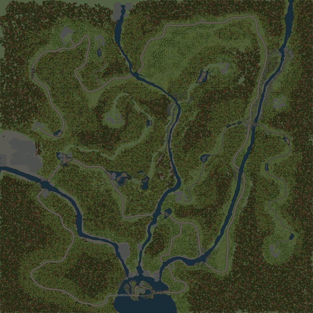 Карта «Впадина»