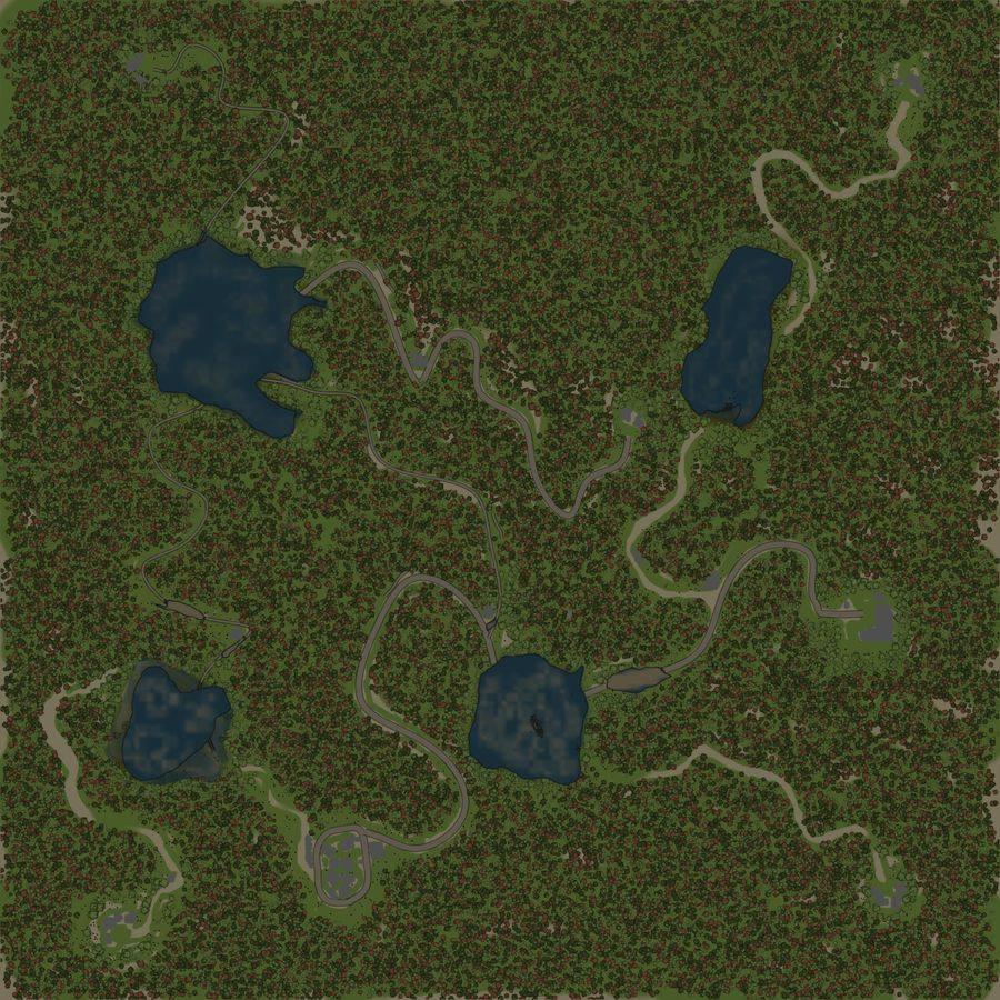 Карта «Заболоченое»