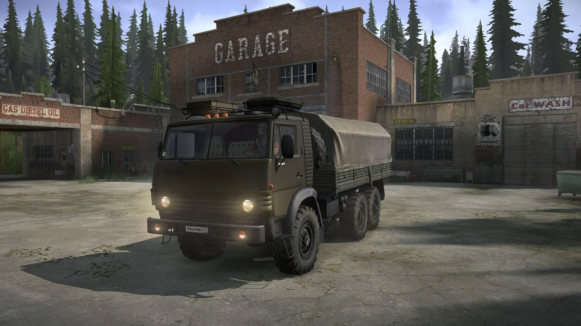 КамАЗ-4310 «Prapor»