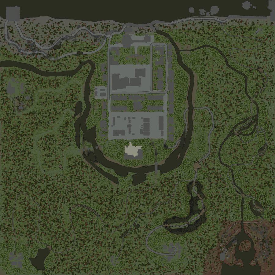 Карта «Мёртвый город»