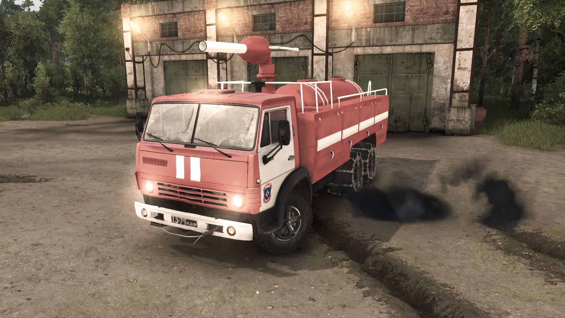 Камаз-53212 Пожарка