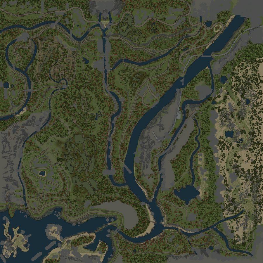 Карта «Покоряя континент»
