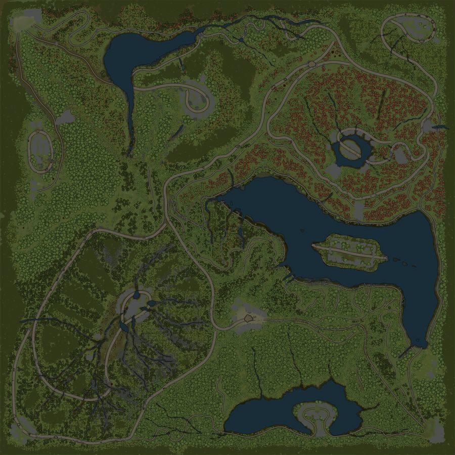 Карта «Китеж»