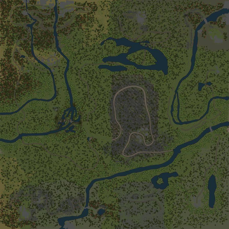 Карта «Перепад»