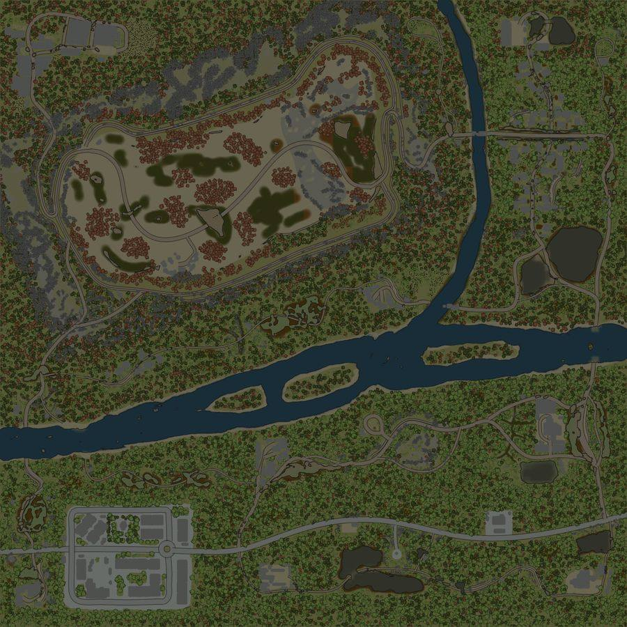 Карта «Старый Карьер»