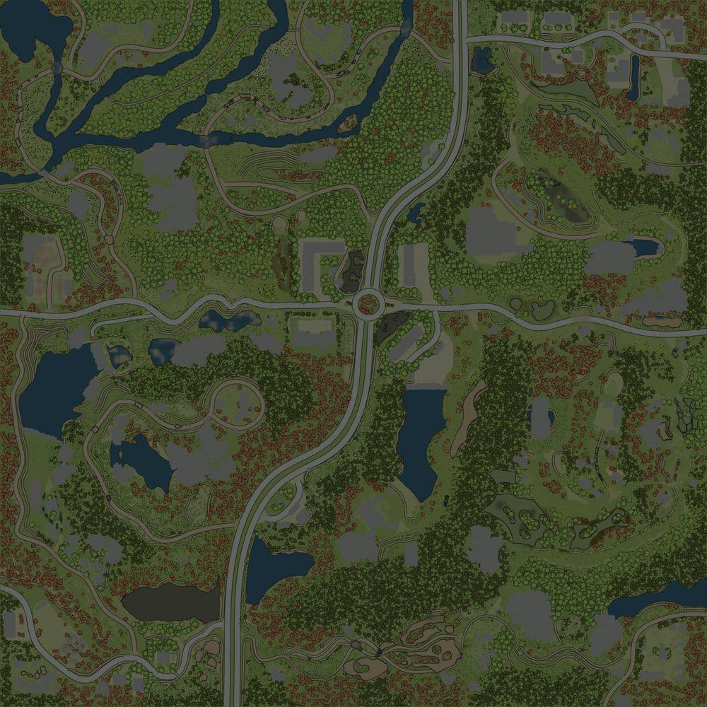Карта «Монокрай 3»