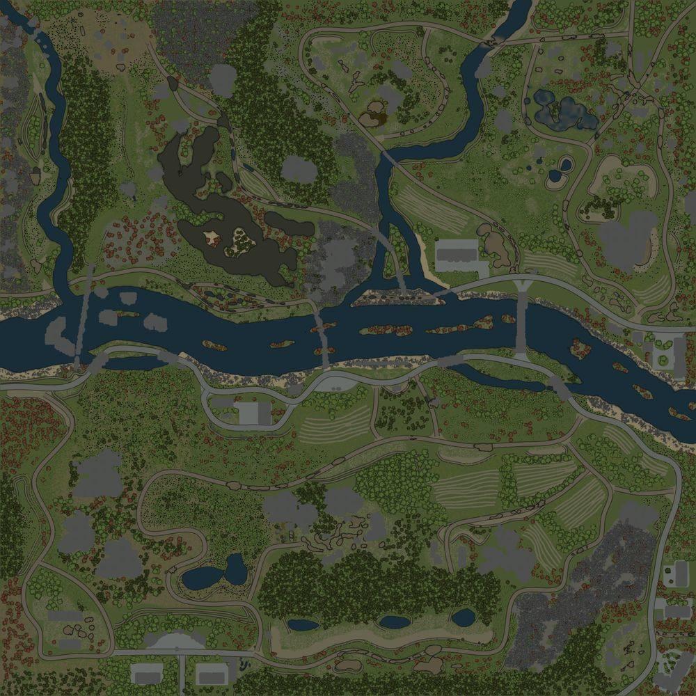 Карта «Монокрай 4»