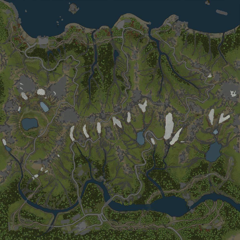 Карта «На краю света»